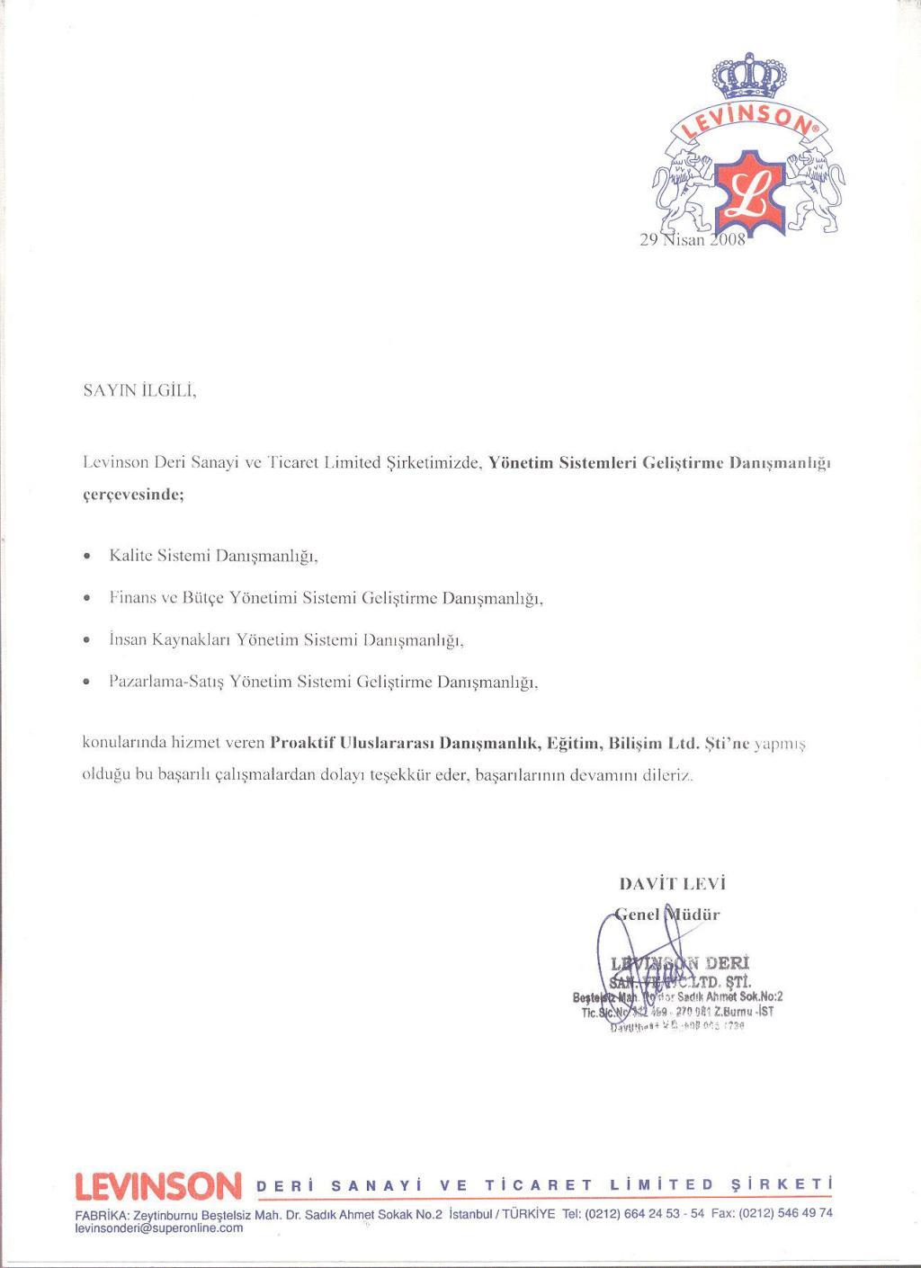 Referans letter idealstalist referans letter altavistaventures Gallery